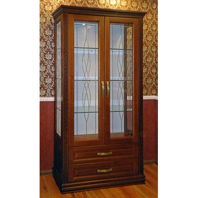 Шкаф - витрина в гостиную Афродита