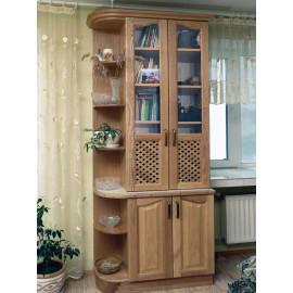 Шкаф витрина в гостиную Дуэт