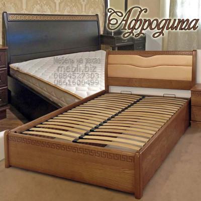 Деревянная полуторная кровать Афродита