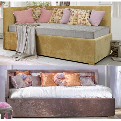 Угловая деревянная кровать Алиса