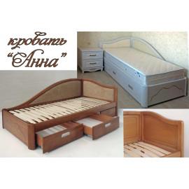 Кровать односпальная Анна