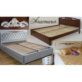 Кровать двуспальная Анастасия