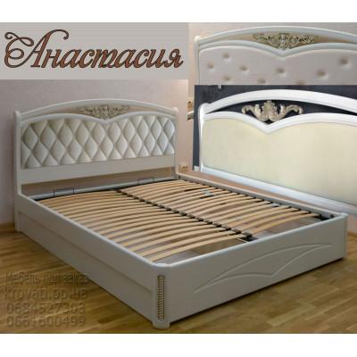 Мягкая кровать Анастасия
