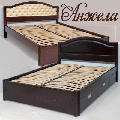 Деревянная кровать Анжела