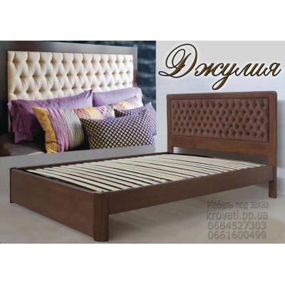 Деревянная односпальная кровать Джулия