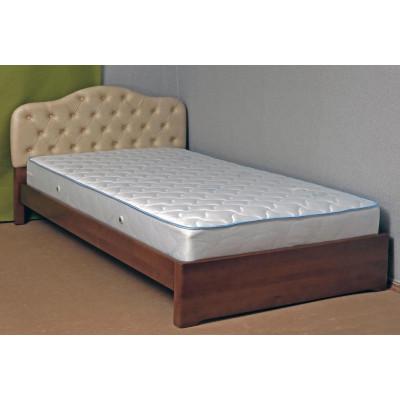 Деревянная двуспальная кровать Диана