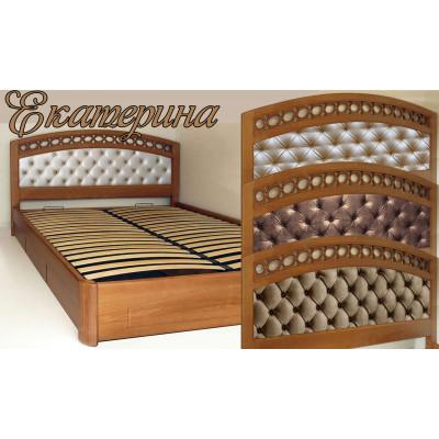 Мягкая кровать Екатерина