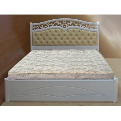 Деревянная двуспальная кровать Елена