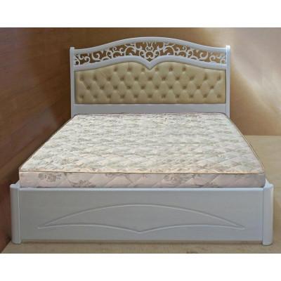 Деревянная полуторная кровать Елена