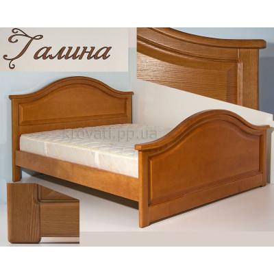 Деревянная двуспальная кровать Галина