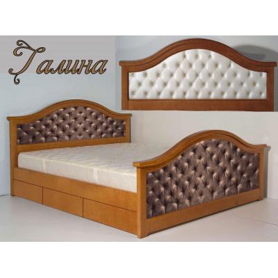 Мягкая кровать Галина