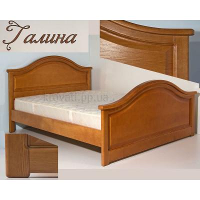 Деревянная полуторная кровать Галина
