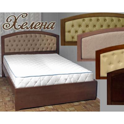 Деревянная двуспальная кровать Хелена