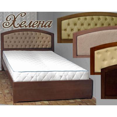 Деревянная полуторная кровать Хелена