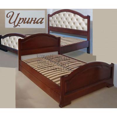 Деревянная полуторная кровать Ирина