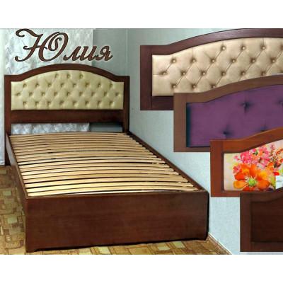 Деревянная односпальная кровать Юлия