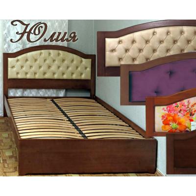 Деревянная полуторная кровать Юлия
