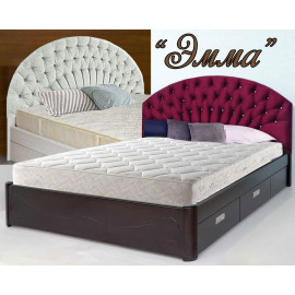 Кровать двуспальная Эмма