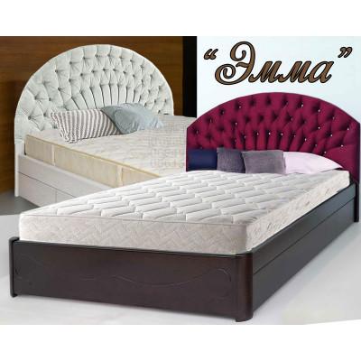 Деревянная полуторная кровать Эмма