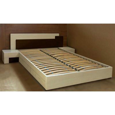 Деревянная кровать с ящиками Юнона