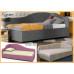 Угловая деревянная кровать Кармен