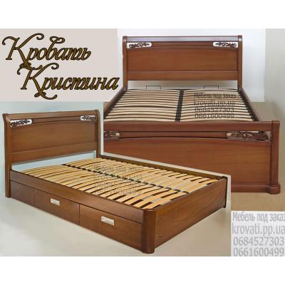 Деревянная кровать Кристина