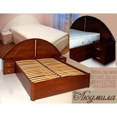Кровать с подъемным механизмом Людмила
