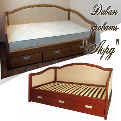 Мягкая кровать Лорд