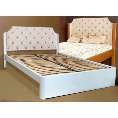 Деревянная двуспальная кровать Луиза