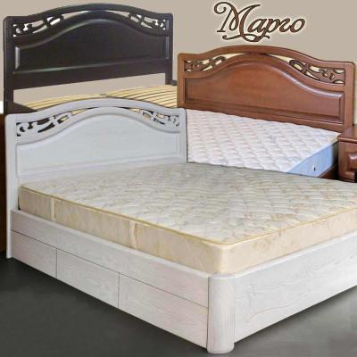 Деревянная кровать с ящиками Марго