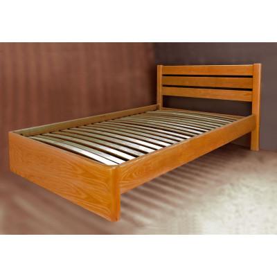 Деревянная односпальная кровать Мария