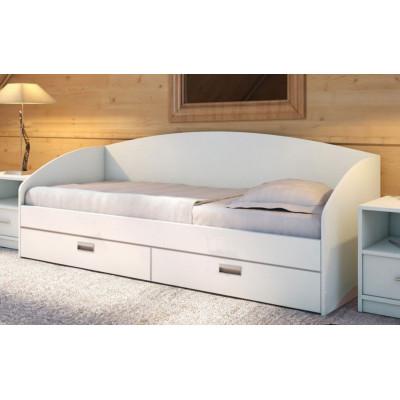Мягкая кровать Настя
