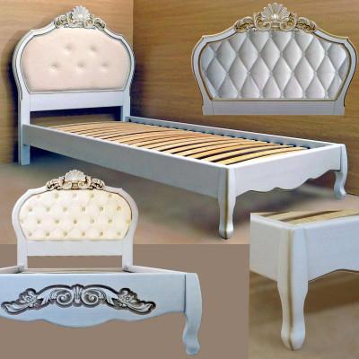 Деревянная односпальная кровать Принцесса