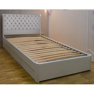 Деревянная односпальная кровать Шарлотта