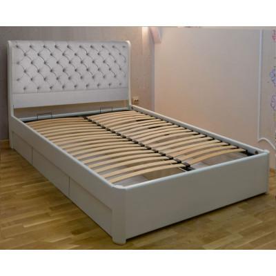 Деревянная полуторная кровать Шарлотта