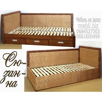Угловая деревянная кровать Сюзанна
