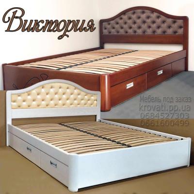 Кровать мягкая «Виктория»