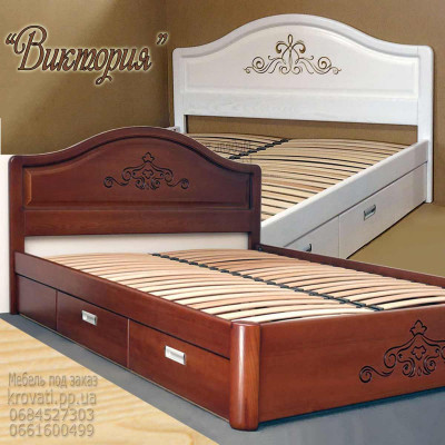 Кровать с ящиками «Виктория»