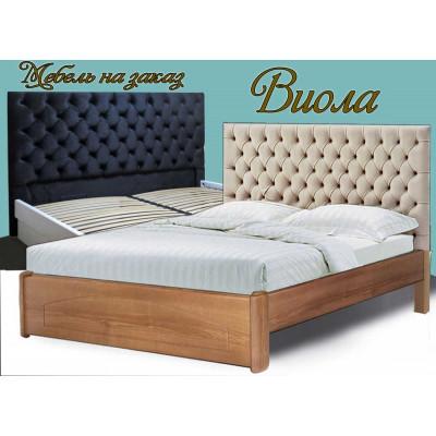 Деревянная кровать Виола