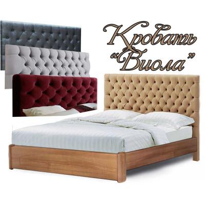 Деревянная односпальная кровать Виола