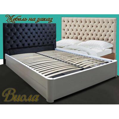 Деревянная полуторная кровать Виола