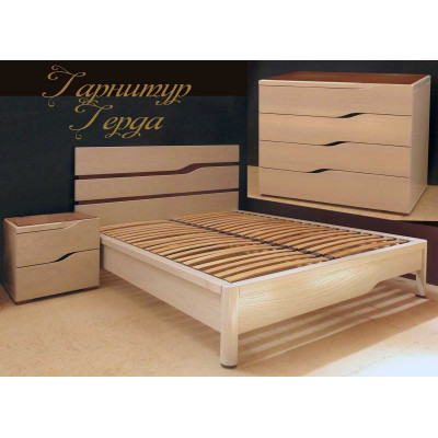 Спальный гарнитур Герда - мебель для спальни