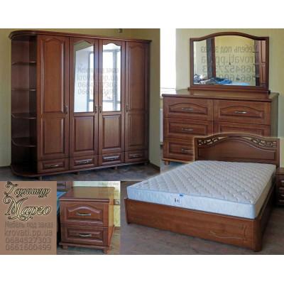 Спальный гарнитур Марго 1 - мебель для спальни