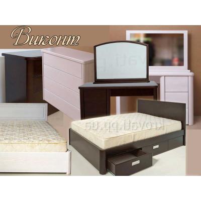 Спальный гарнитур Виконт - мебель для спальни
