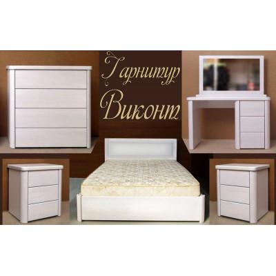 Спальный гарнитур Виконт 1 - мебель для спальни