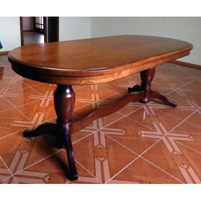 Деревянный обеденный стол 5