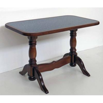 Деревянный обеденный стол 7