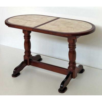 Деревянный обеденный стол 8