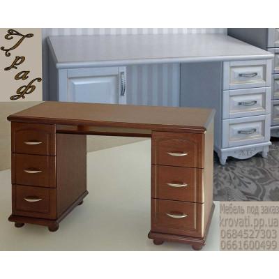 Деревянный письменный стол Граф