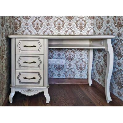 Деревянный письменный стол Принц